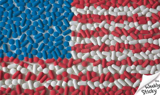 Pill-Flag